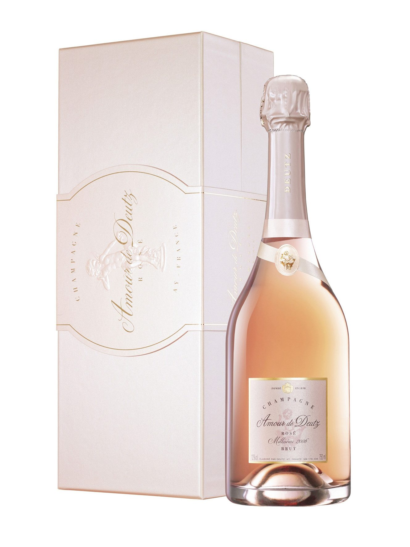 Champagne AMOUR DE DEUTZ ROSE' 2006