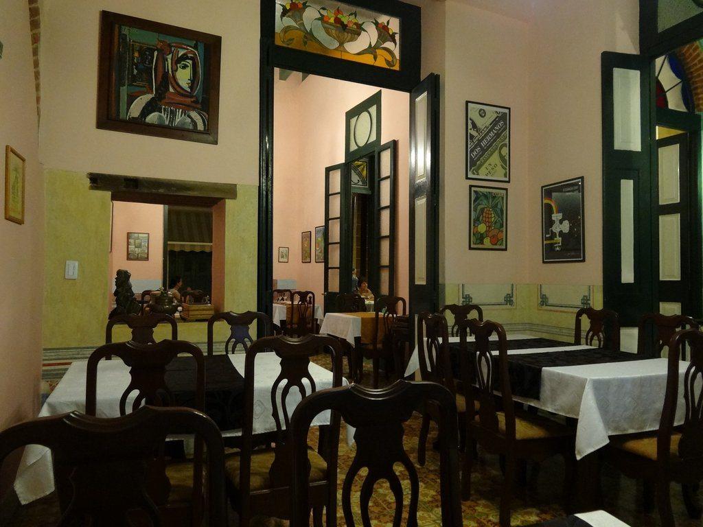Foodie: sala del ristorante cubano Paladar Los Mercaderes