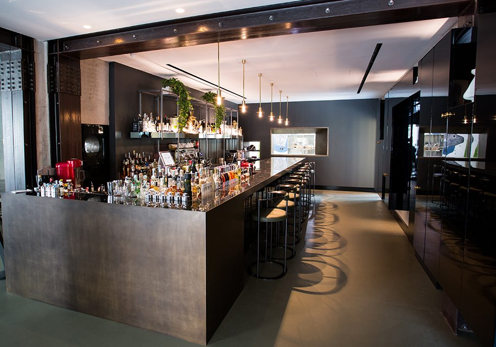 Fourghetti il bancone del bar