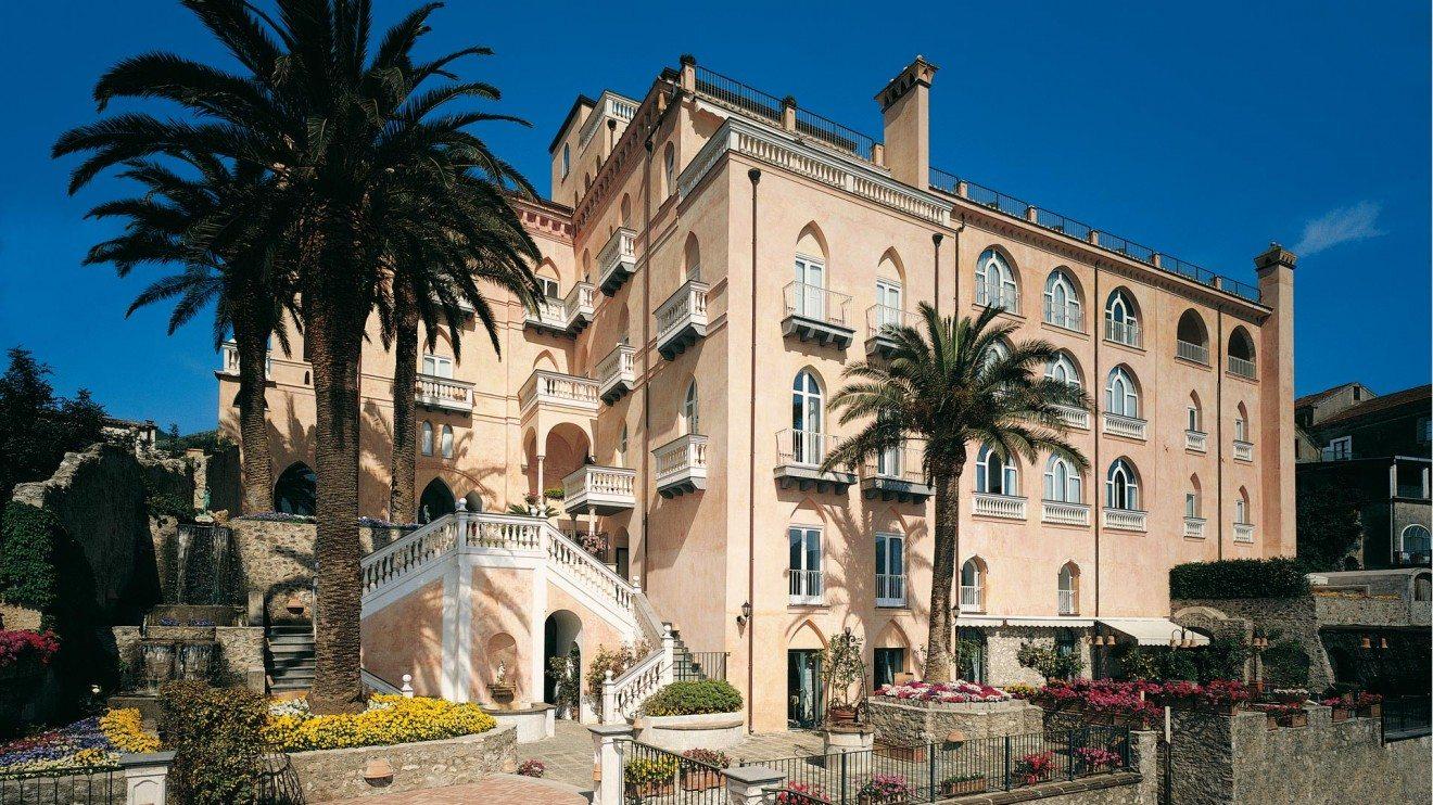 Palazzo Avino, a Ravello, in costiera amalfitana