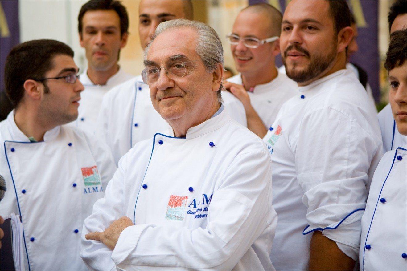 Gualtiero Marchesi, docente e rettore di ALMA