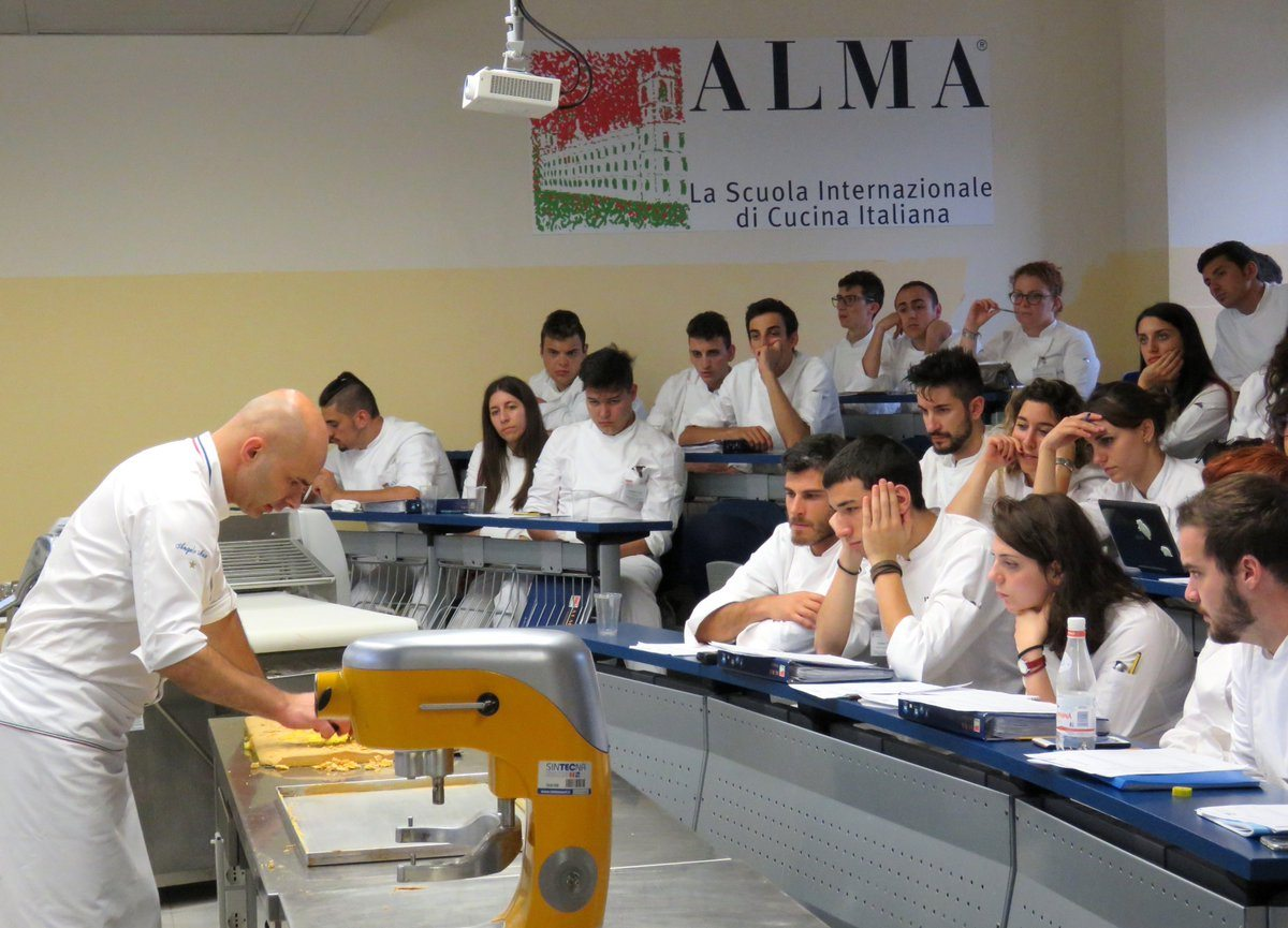 Alma corso superiore di cucina italiana i nuovi cuochi