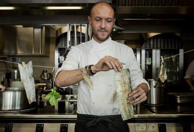 Ristorante Il Marin, lo chef Marco Visciola