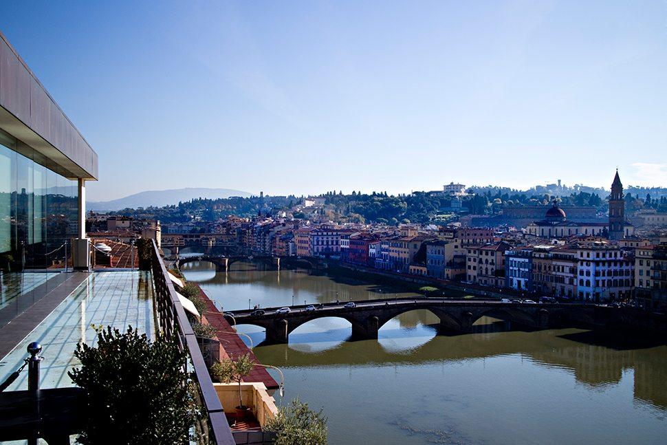 Se.Sto on Arno Il panorama foto Lido Vannucchi