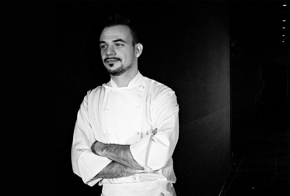 Matteo Lorenzini, lo chef.