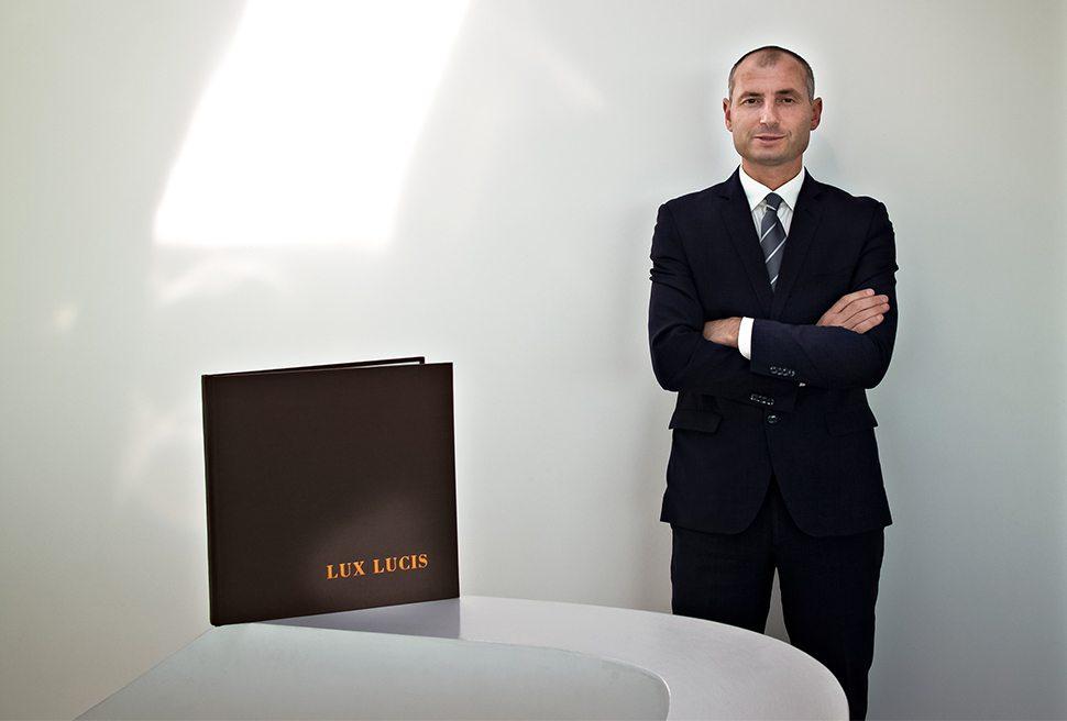 Ristorante Lux lucis - Il maitre Sokol Ndreko
