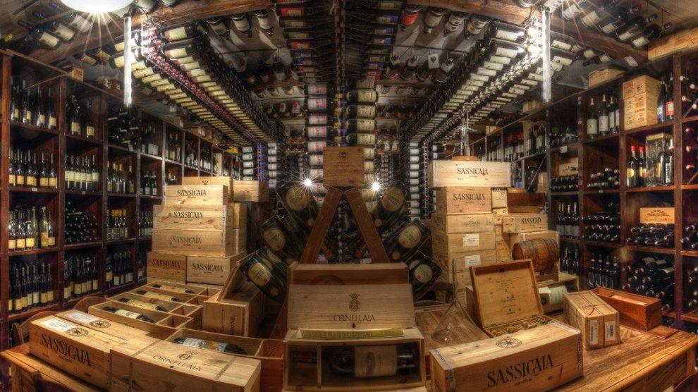 Cantina di vini pregiati