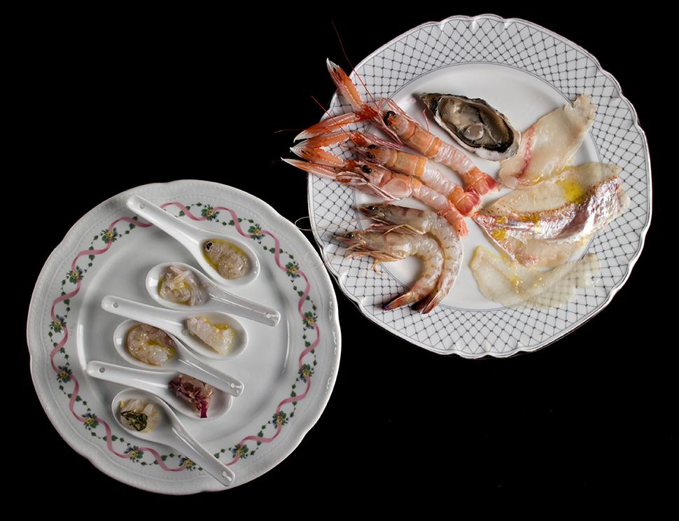 Ristorante Romano - Crudo di Pesce - foto Lido Vannucchi
