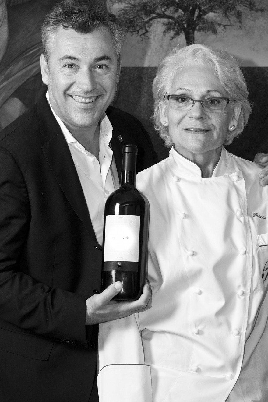 Ristorante Romano - Roberto Franceschini e Franca Cecchi - foto Lido Vannucchi