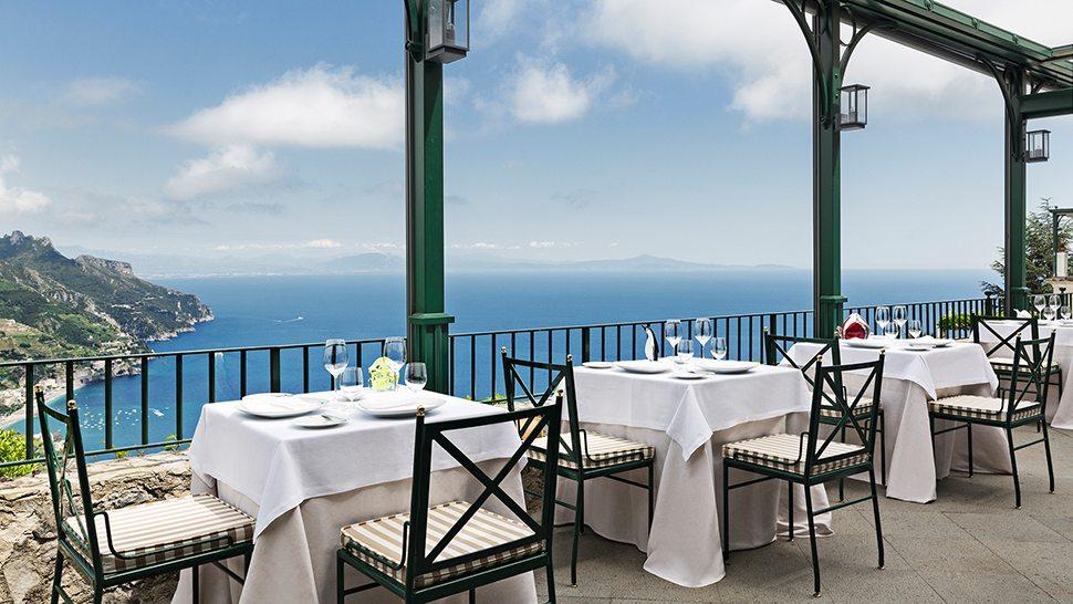 Ristorante Rossellinis - La terrazza panoramica
