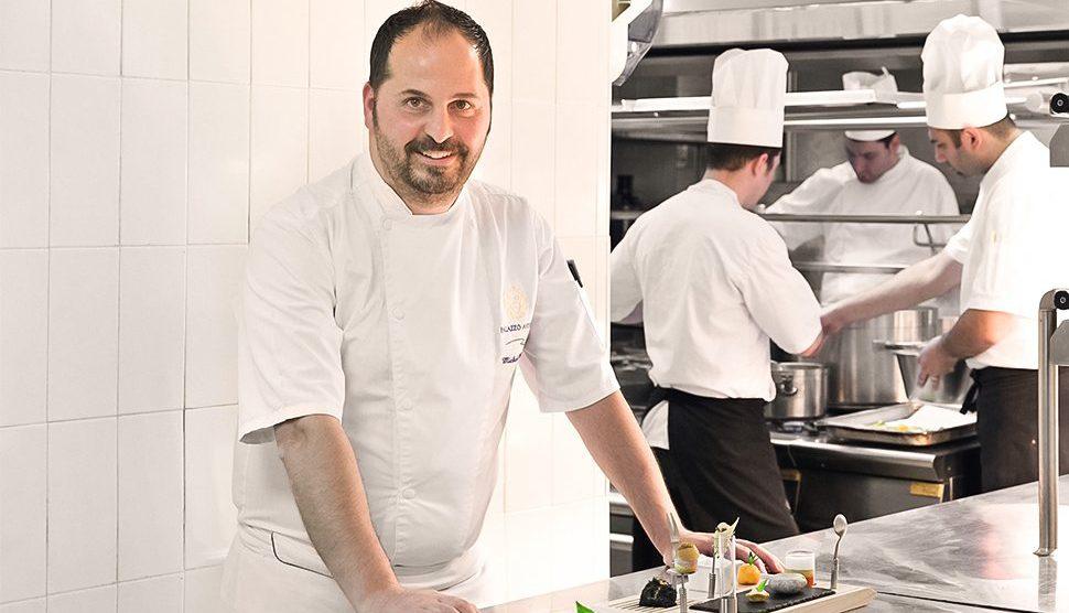 Michele Deleo, lo chef.