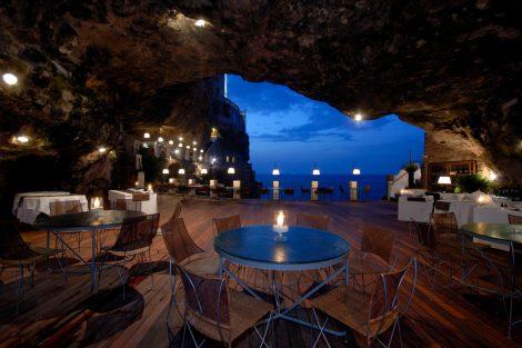 ristoranti gourmet in salento, Grotta Palazzese