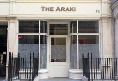 l'esterno sushi reataurant The Araki