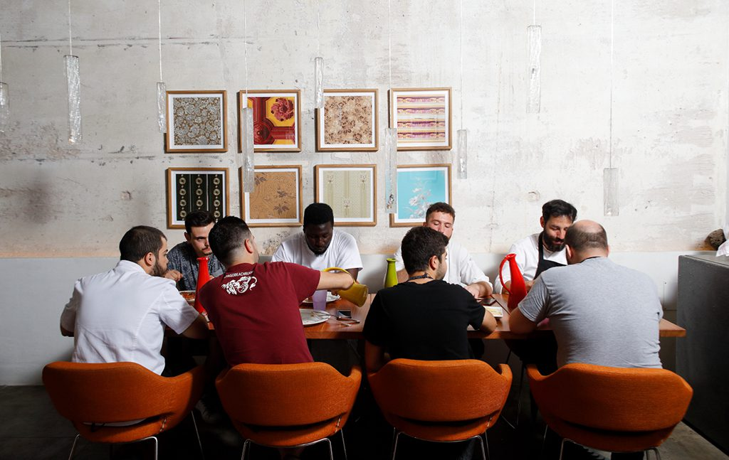 interni ristorante josto nuova cucina sarda